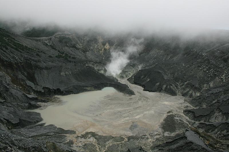 Вулкан Tangkuban Perahu, Бандунг