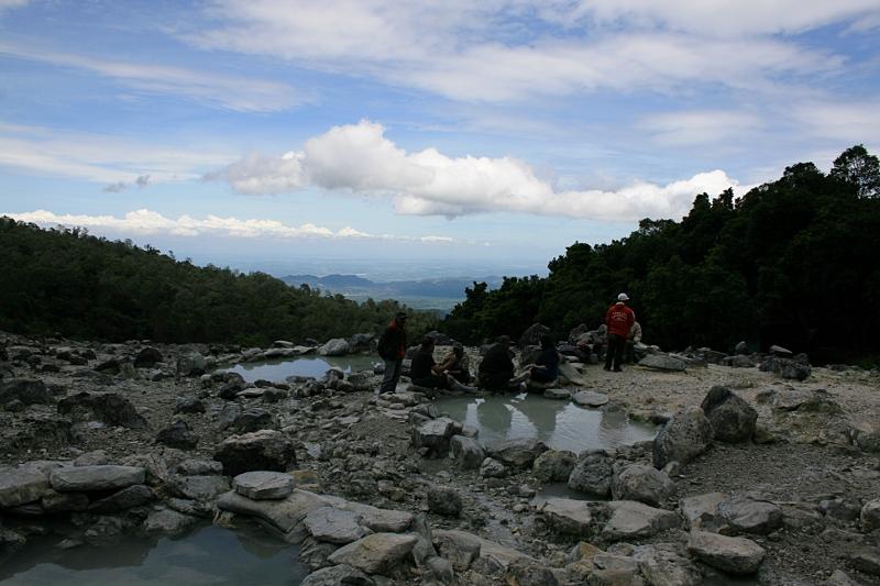 Kawah Domas, Бандунг