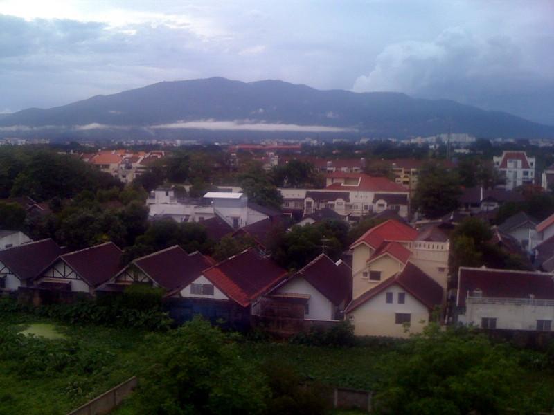 Чианг Май, вид с балкона