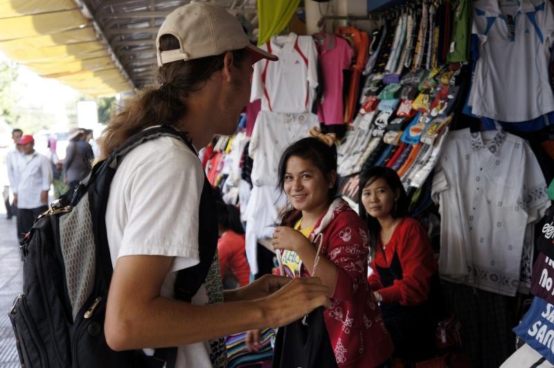 На рынке в Пном-Пене