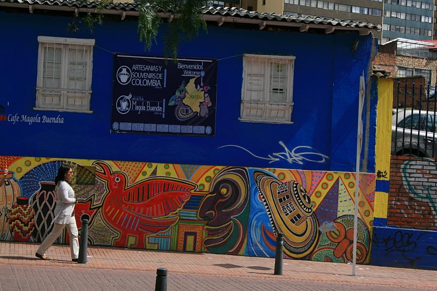 Улицы Боготы