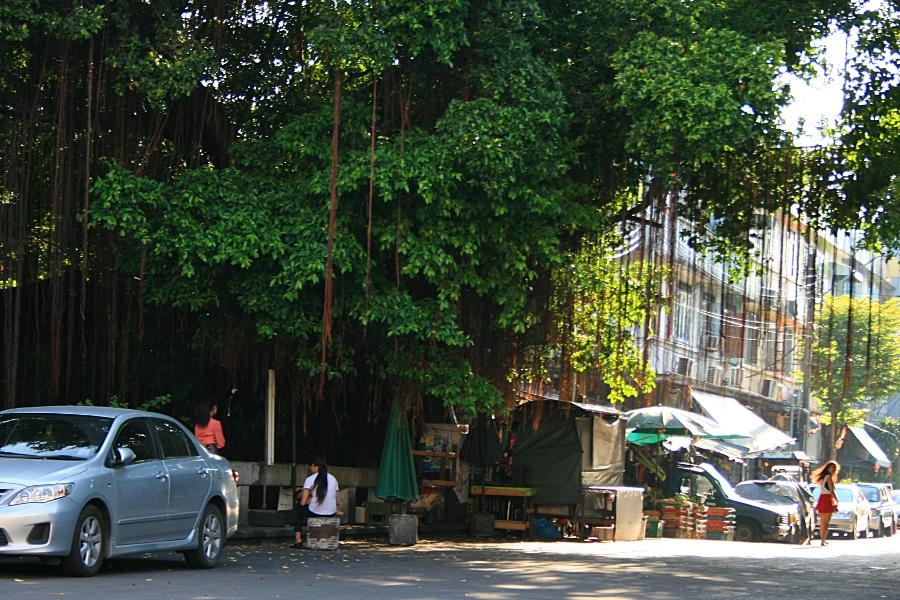 Бангкок, девушка в красном