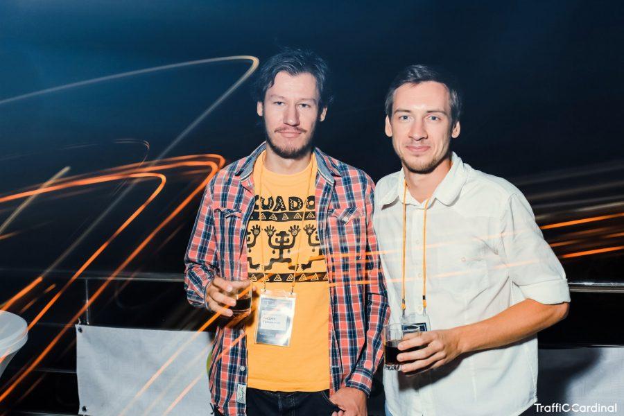 Я и Вадим Корепов, организатор митапа